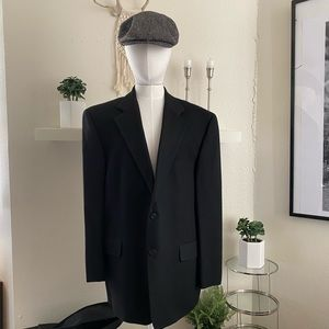 Loro piana worsted camelhair blazer in size 44R